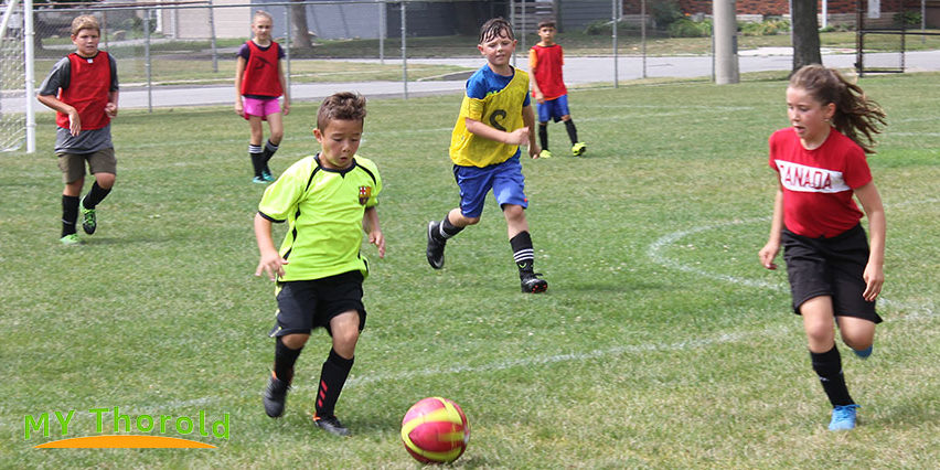 Super Soccer School scrimmage game