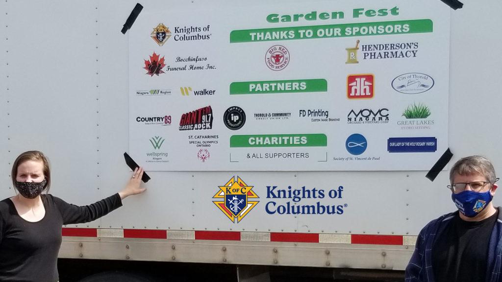 Wellspring Niagara Garden Fest Knights of Columbus