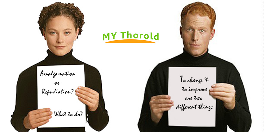 Amalgamation Niagara Debate Thorold