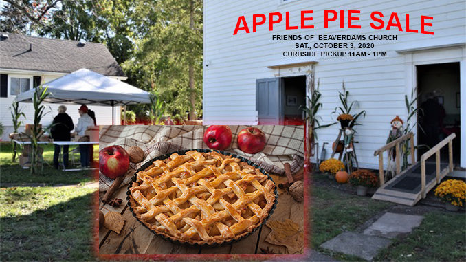 Apple Pie Sale Beaverdams Church Thorold