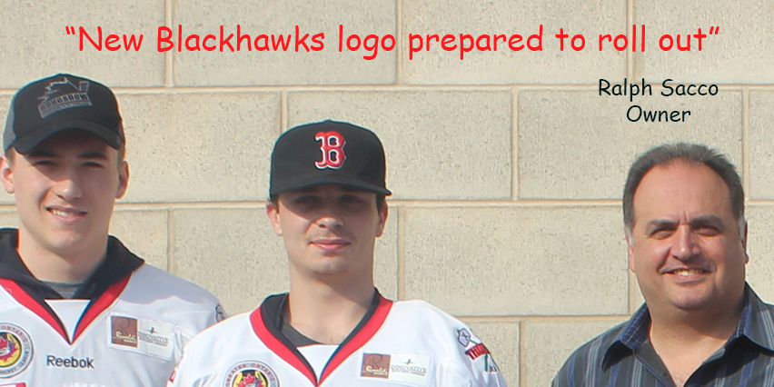 Thorold Blackhawks new logo ralph sacco