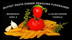 Buffet Pasta Dinner Penguins Fundraiser @ Club Belvedere
