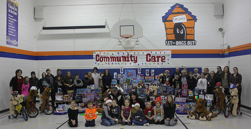 Burleigh Hill School Community Care Toy Drive 2017