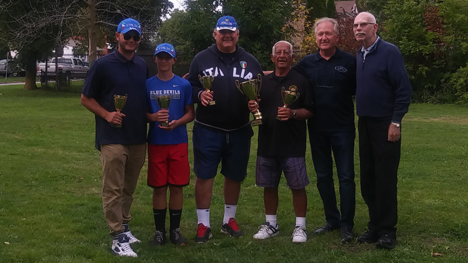 Champions Club Capri Team Thorold_Intergenerational Bocce Tournament