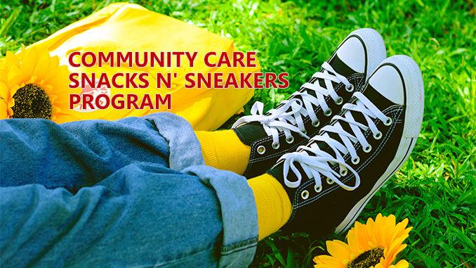Community Care Snacks Sneakers Program - Thorold