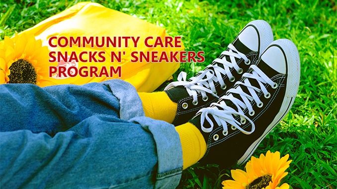 Community Care Snacks Sneakers Program - Thorold