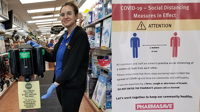 Covid-19 Safety Measures Henderson's Pharmacy