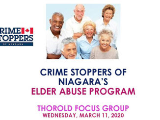 Crime Stoppers Elder Abuse Program - Thorold Focus Group