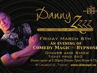 Danny Z show Club Capri Thorold