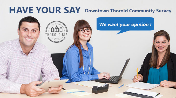 Downtown Thorold BIA community survey 2020