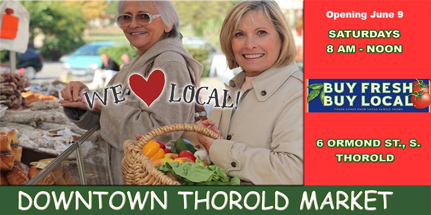Downtown Thorold Market _ grand opening _ June 9