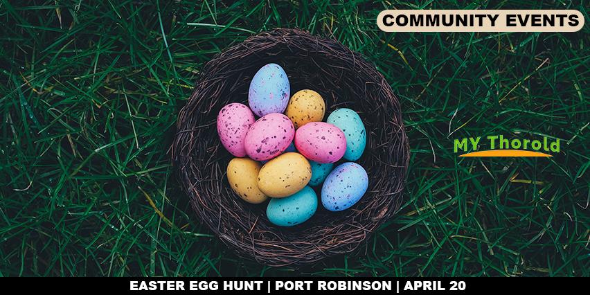 Easter Egg Hunt Port Robinson April 20th