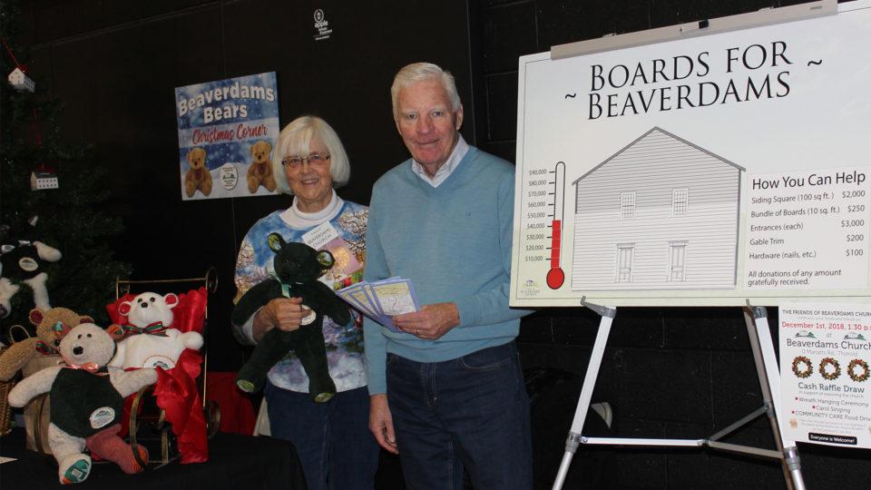 Friends of Beaverdams Church Dee & Dave
