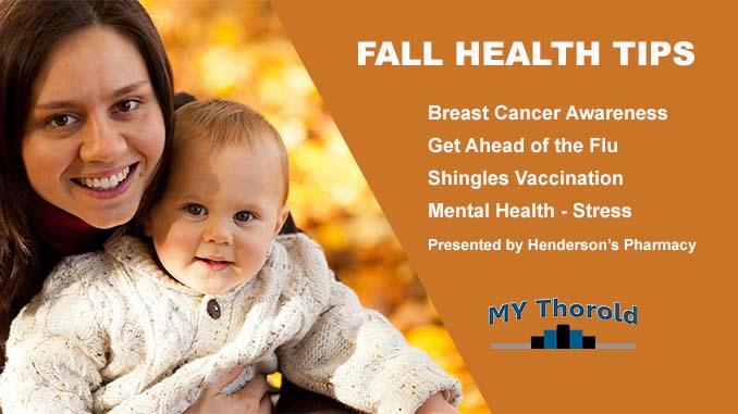 Fall Health Tips Thorold Hendersons Pharmacy