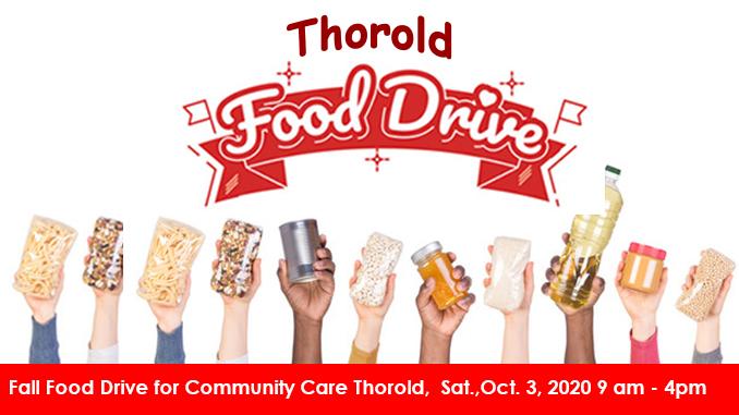 Fall Food Drive Community Care Thorold