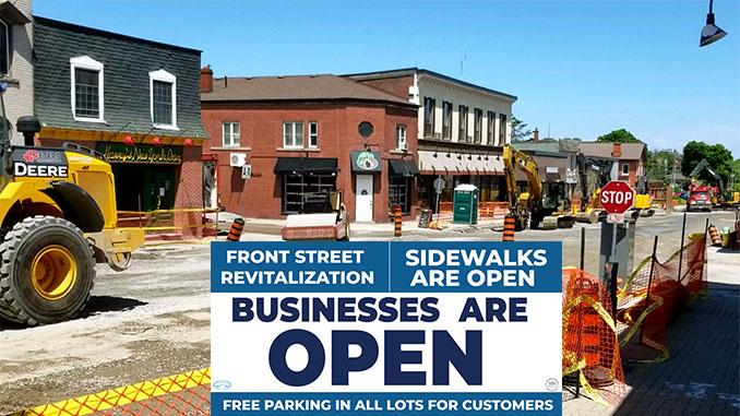 Front Street revitalization june update