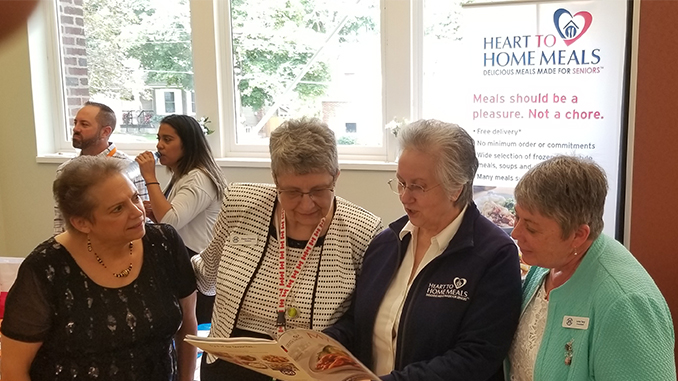 Heart to Home Meals Thorols Seniors Info Fair