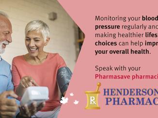 High Blood Pressure advice Henderson's Pharmacy