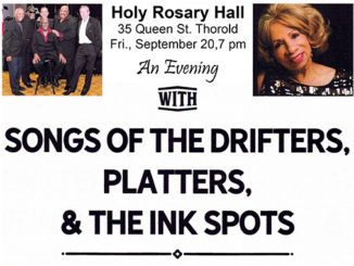 An Evening with Songs of The Drifters - Platters - Ink Spots