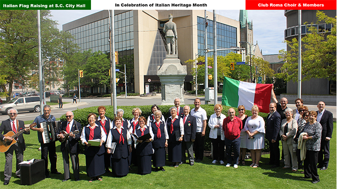 Italian Flag Raising Ceremony 2019