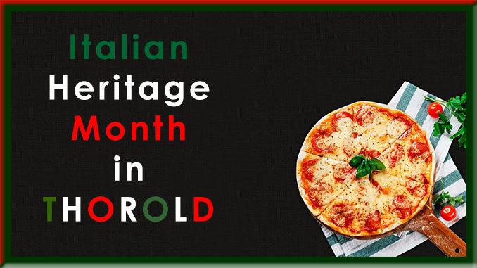 Italian heritage month Thorold 2020