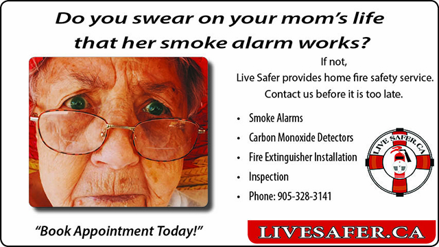 Live Safer | Fire Safety