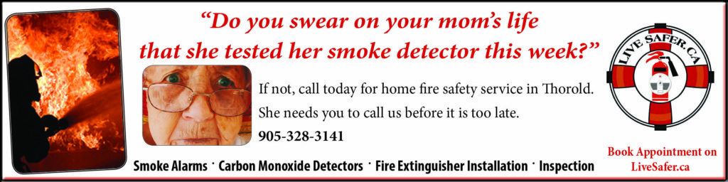 Live Safer home fire safety service Thorold
