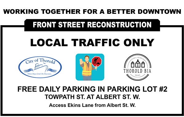 Local Traffic Only - Front St Reconstruction