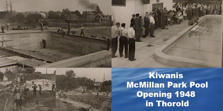 McMillan Park Pool Opening 1948 Thorold