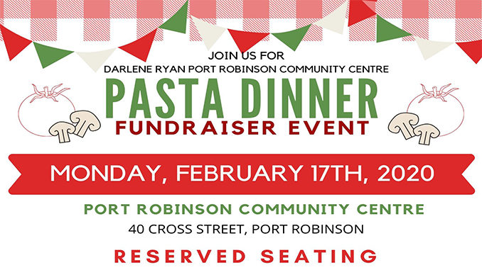 Port Robinson pasta dinner 2020