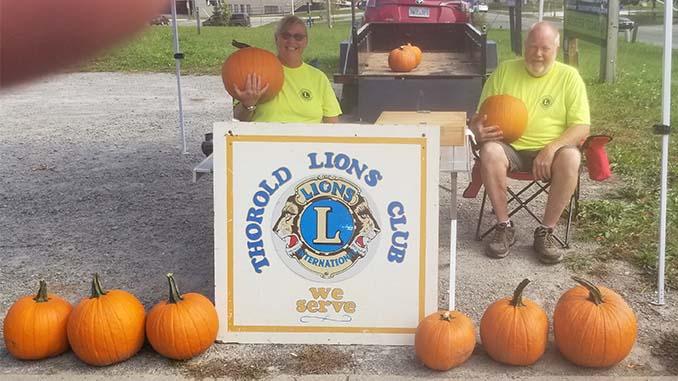 Pumpkin Sale _ Lions Club _ Thorold