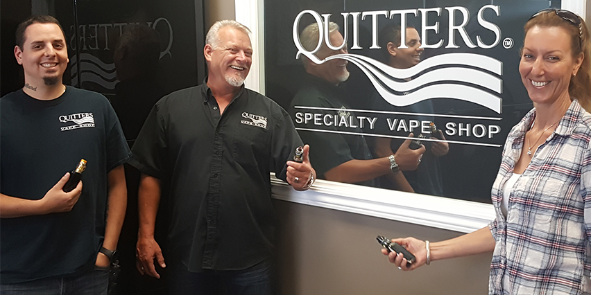Quitters Specialty Vape Shop Thorold