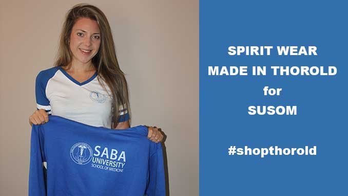 SUSOM spirit wear made in thorold