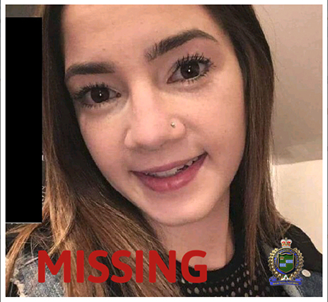 Samantha Leigh Lambert_Missing_Thorold
