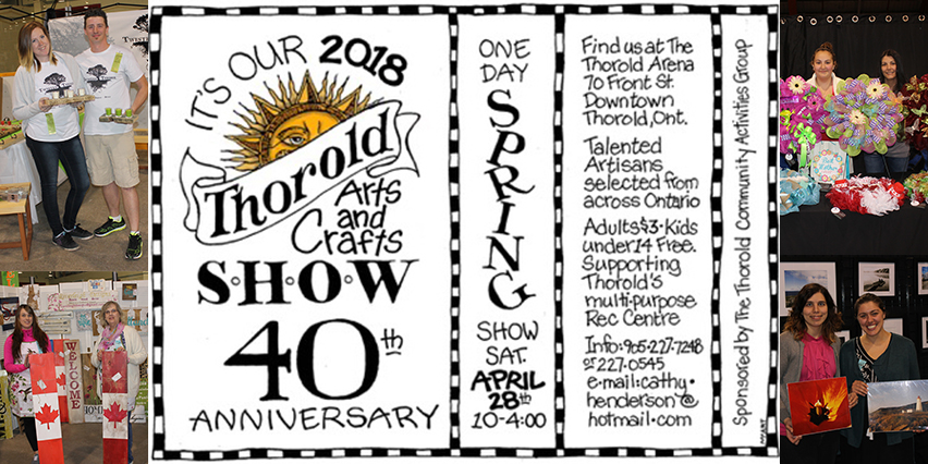 Thorold Art Craft Show 2018 40th Annual
