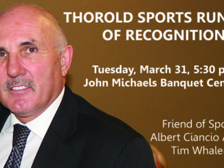 Thorold Sports Runway of Recognition Tim Whalen