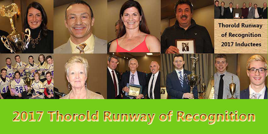 Thorold sports runway of recognition 2017