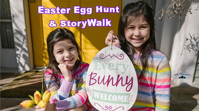 Thorold Easter Egg Hunt StoryWalk