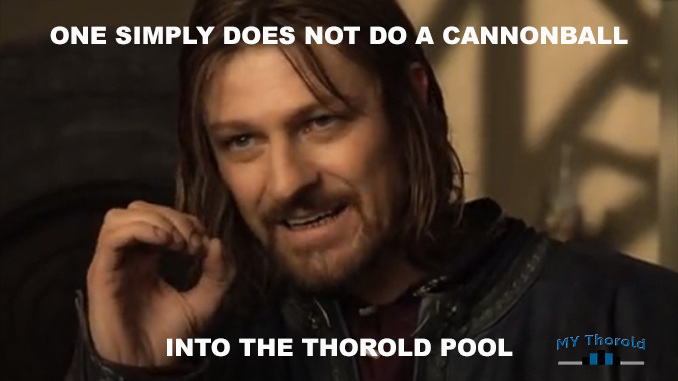 One Does Not Simply Do A Thorold Cannonball