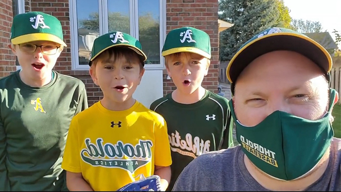 Thorold Minor Baseball 2021 Registration