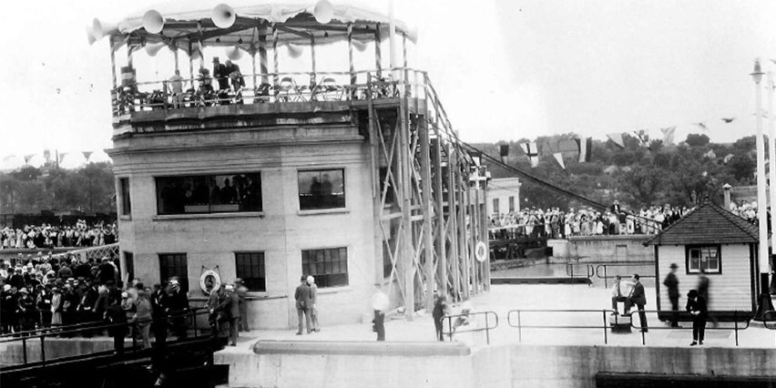 Welland Canal opening 1932
