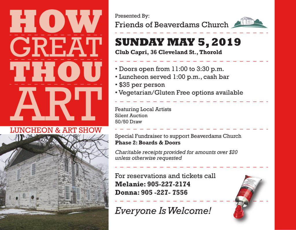 Friends of Beaverdams Church how great thou art thorold