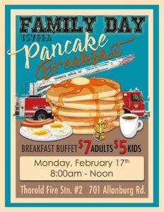 Family Day Pancake Breakfast