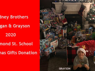 Gidney brothers fulfill students Christmas wish list