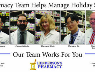 Henderson's pharmacy team - advice manage holiday stress