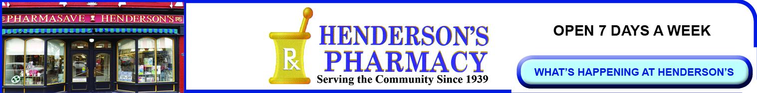 Henderson's Pharmacy, Thorold