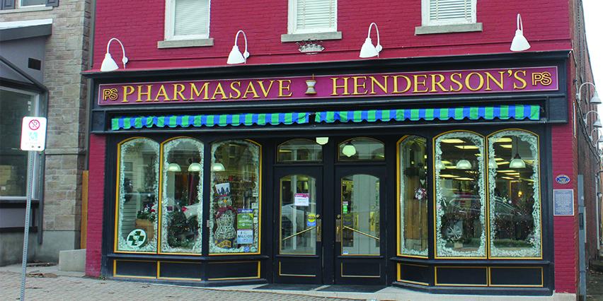 Hendersons Pharmacy Thorold healthcare