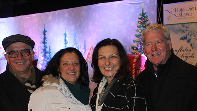hotel dieu shaver snowflakes angels george mary rina greg