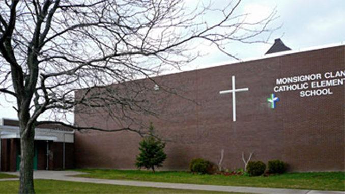 monsignor clancy school Thorold