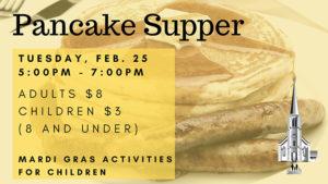 Shrove Tuesday Pancake Supper St Johns Church Thorold @ St John's Church, Thorold